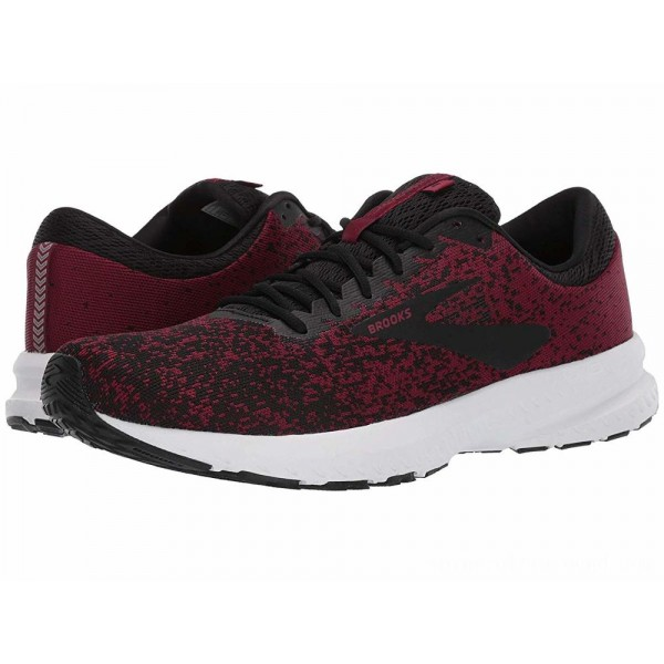 Brooks Launch 6 Red/Black/Grey - Sale