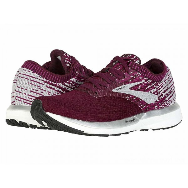 Brooks Ricochet Fig/Wild Aster/Grey - Sale