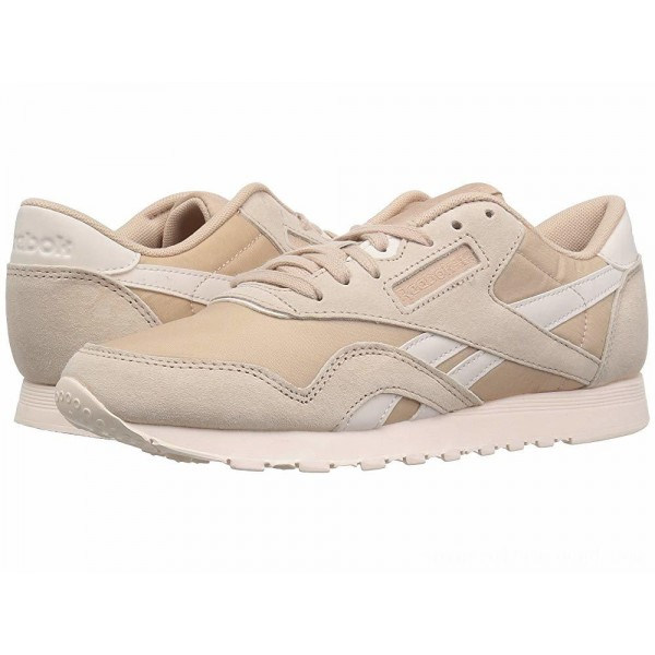 Reebok Lifestyle Classic Nylon Bare Beige/Pale Pink - Sale