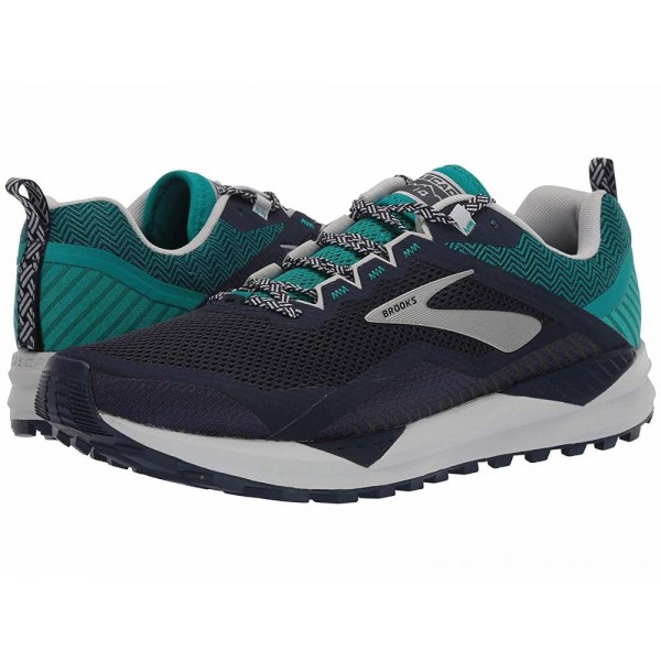 Brooks Cascadia 14 Navy/Blue Grass/Grey - Sale