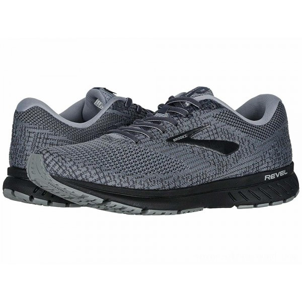 Brooks Revel 3 Primer/Ebony/Black - Sale