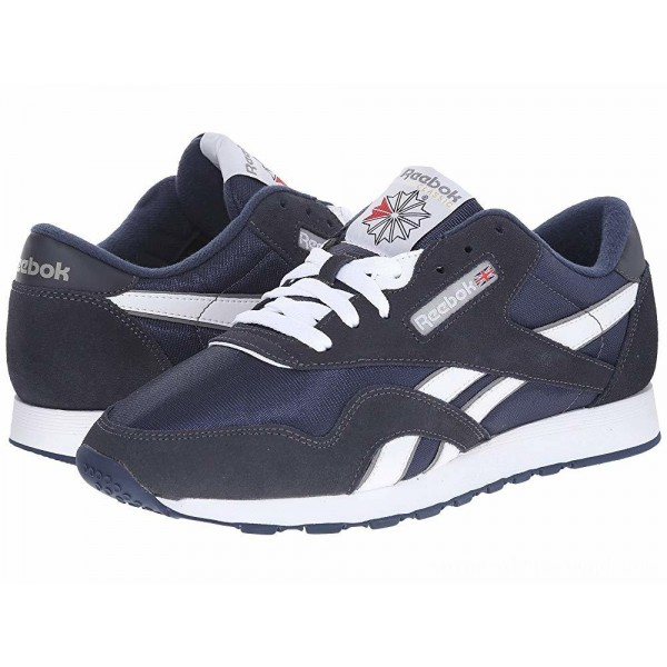 Reebok Lifestyle Classic Nylon Team Navy/Platinum - Sale