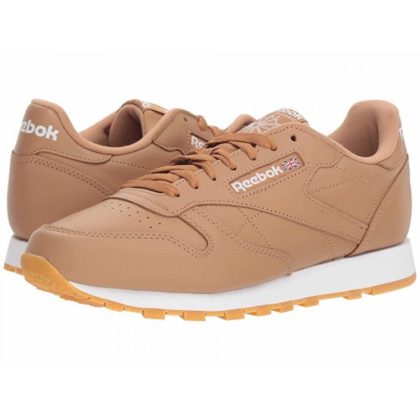 Reebok Lifestyle Classic Leather MU Soft Camel/White - Sale