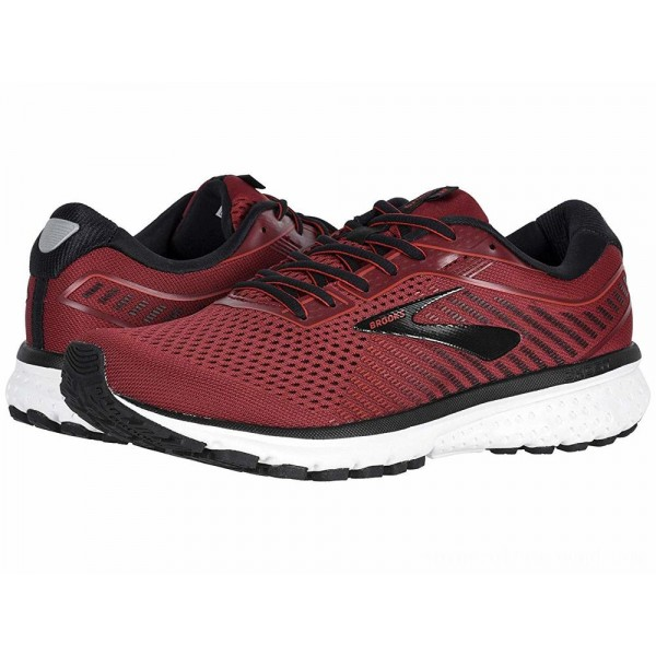 Brooks Ghost 12 Red/Biking Red/Black - Sale