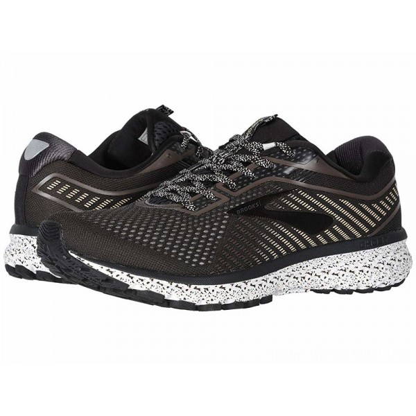 Brooks Ghost 12 Cookies/Cream/Brown - Sale