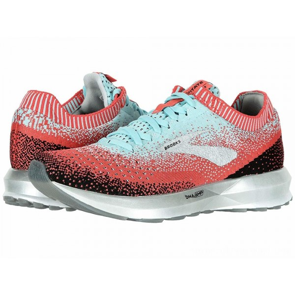 Brooks Levitate 2 Coral/Blue/Black - Sale