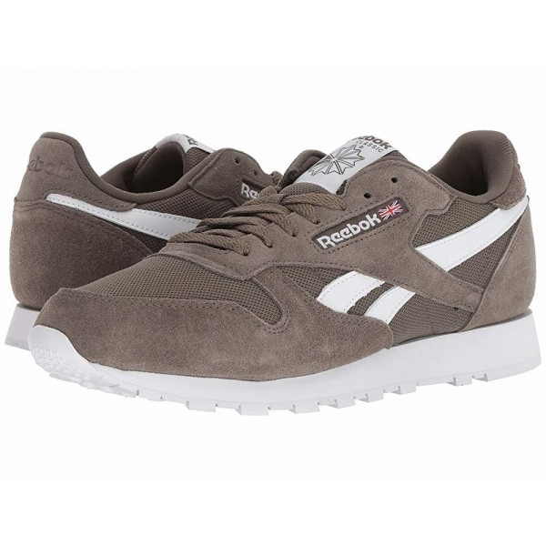Reebok Lifestyle Classic Leather MU Terrain Grey/White - Sale