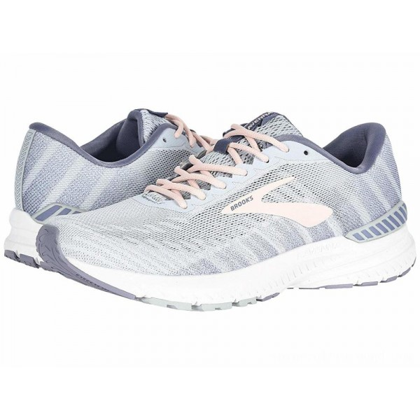 Brooks Ravenna 10 White/Grey/Wild Aster - Sale